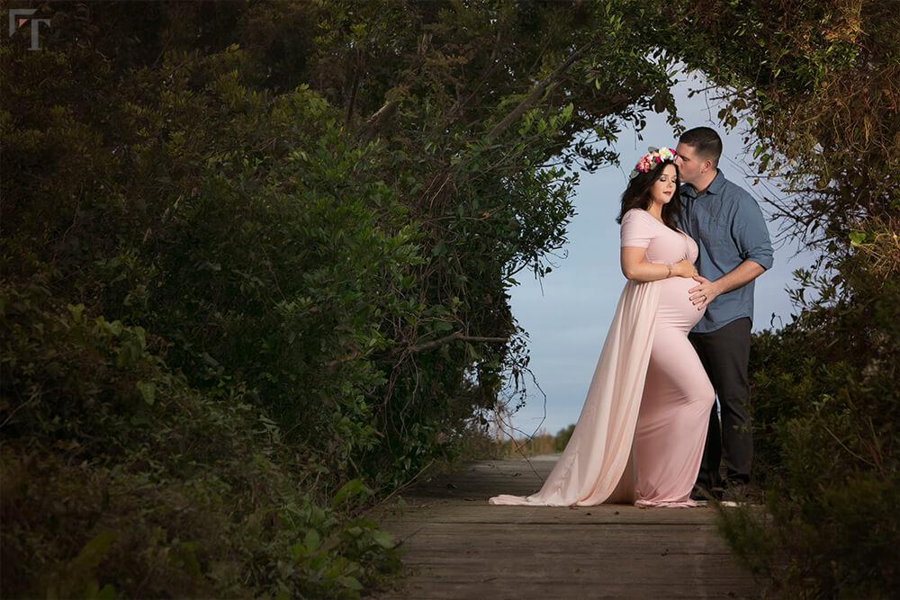 maternity photo session charleston