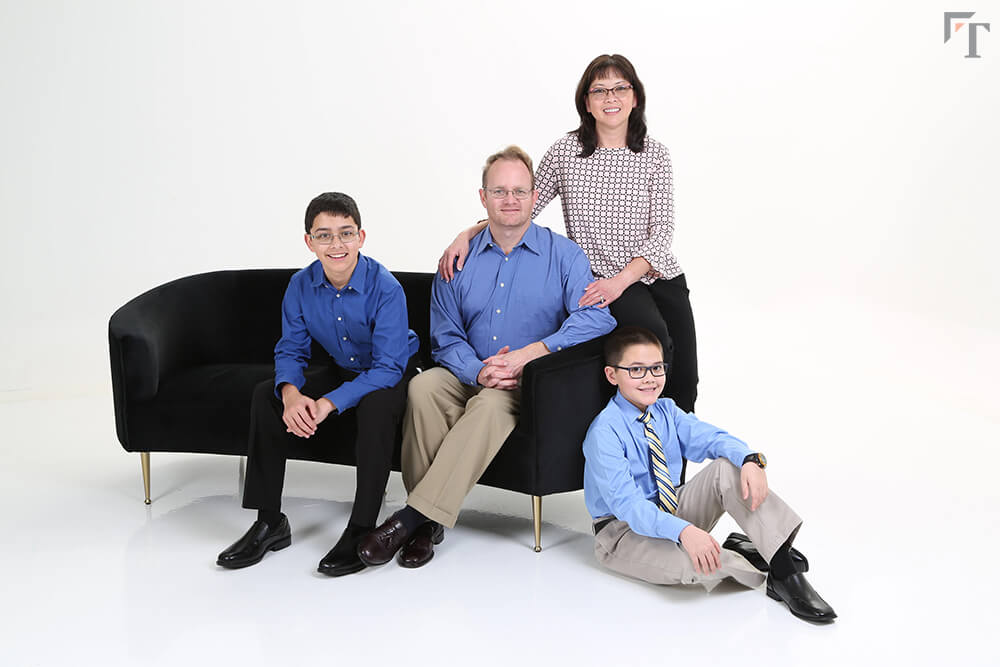photo studio for family portraits